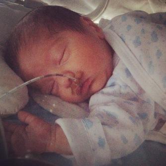 Gabriel . 10 dias - 1ª cirurgia ao coração