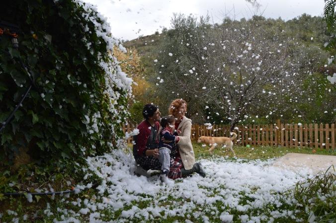 Snow in Lisbon